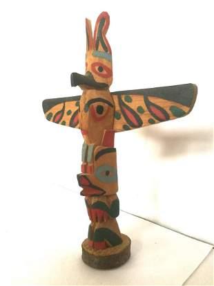 Northwest Coast Indian Totem Pole