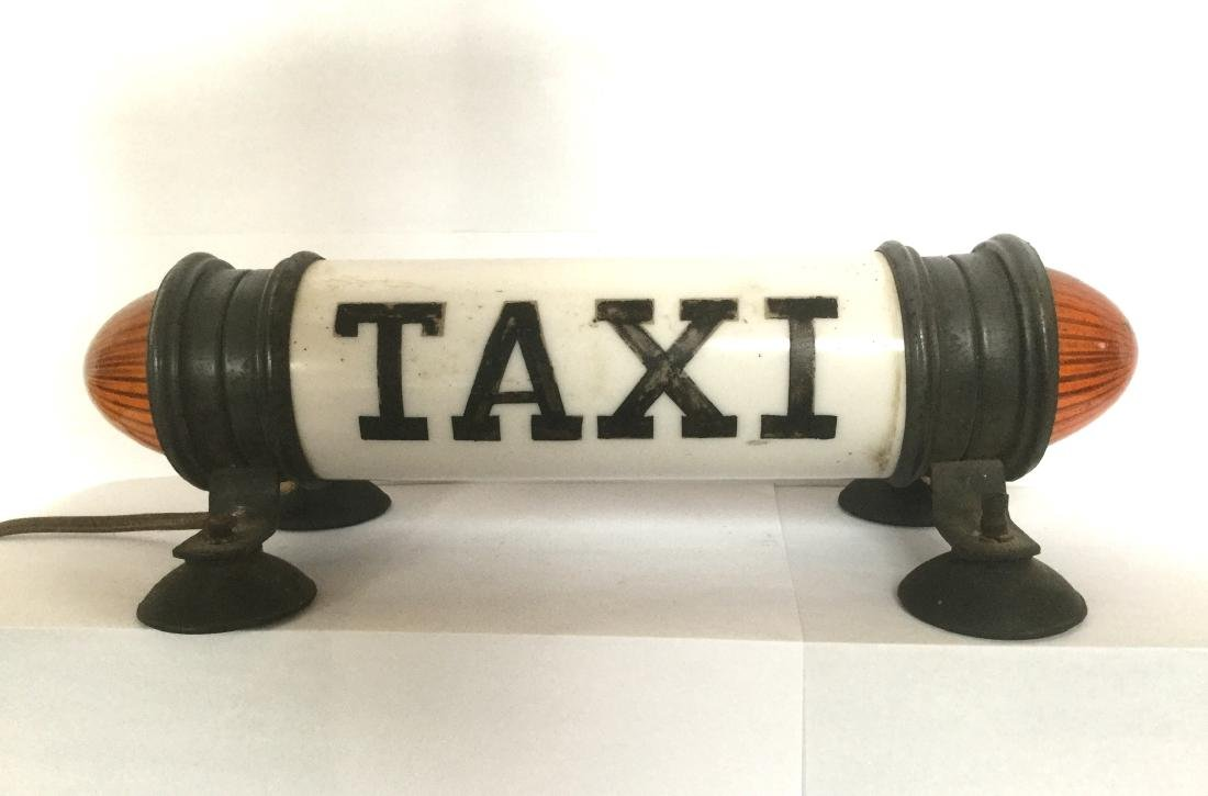 New York City Taxi Cab Light