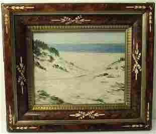 Impressionistic Seascape Oil Painting
