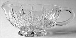 Marquis Waterford Canterbury Crystal Sauce Boat