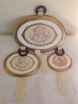 Limoges Ceramic Plaques