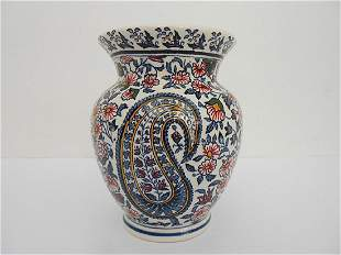 Gien France Cachemire Vase