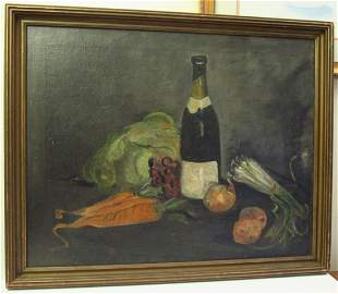 M. Frank: Oil on Canvas