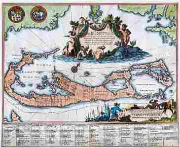 Mappa Aestivarum Insularum, alias Barmudas dictarum