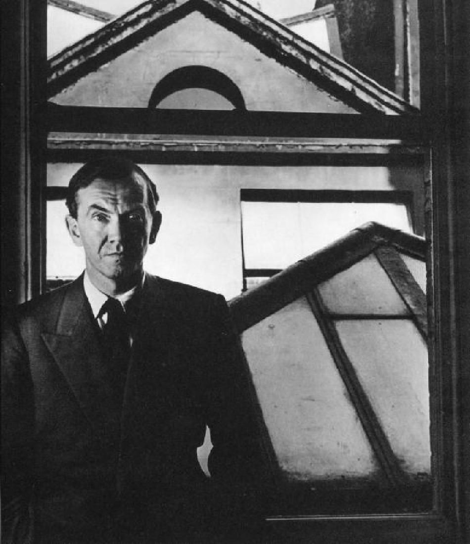 Brandt, Bill - Graham Greene, Kensington