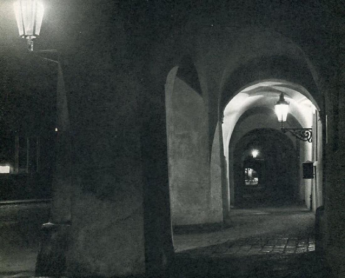 Bucina, Ferdinand - Prague at Night I