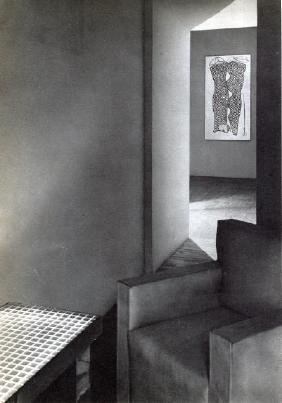 Man Ray -  Interior with Painting