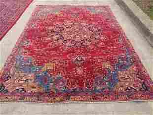 Persian Mashad Rug 9.6x6.9
