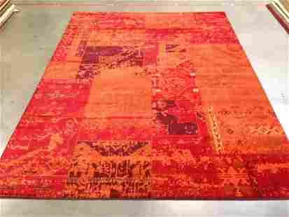 Contemporary Designer Overdye Rug 8x11