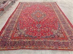 Persian Kashan Rug 10.11x7.9