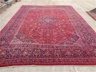 Persian Kashan Rug 12.6x9.7