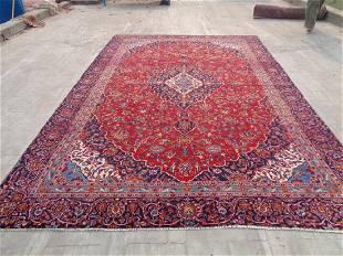Persian Kashan Rug 13.2x8.7