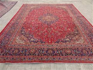 Persian Kashan Rug 12.7x9.9