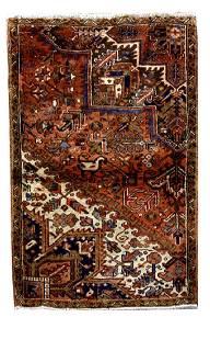 Handmade Persian Serapi-Heriz Rug 3x5