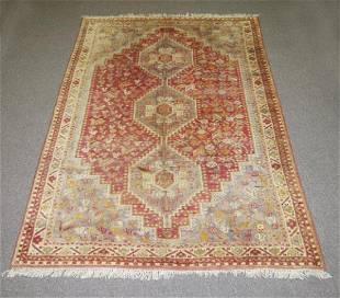 Handmade Semi Antique Persian Shiraz Rug