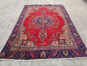 Persian Tabriz Rug 8.9x6