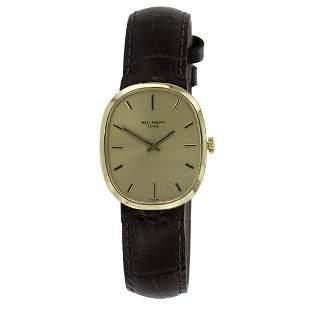 Patek Philippe Ellipse 18K Gold Classic Dress Watch