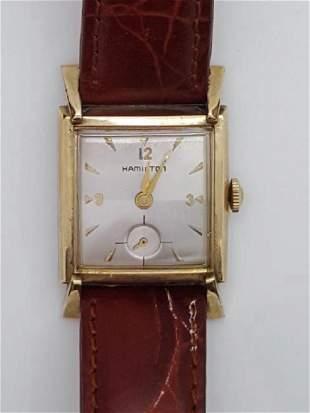 Vintage Hamilton 10K Gold Filled Men's Watch
