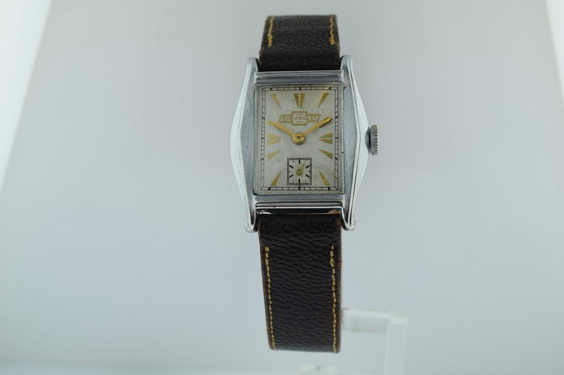 Vintage Chevrolet Mechanical Watch, 1935