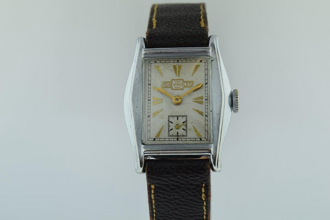 Vintage Chevrolet Mechanical Watch, 1935 - 2