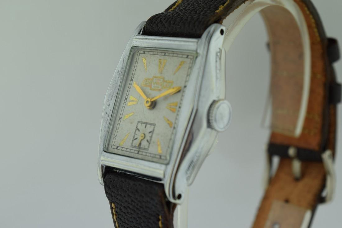 Vintage Chevrolet Mechanical Watch, 1935 - 4