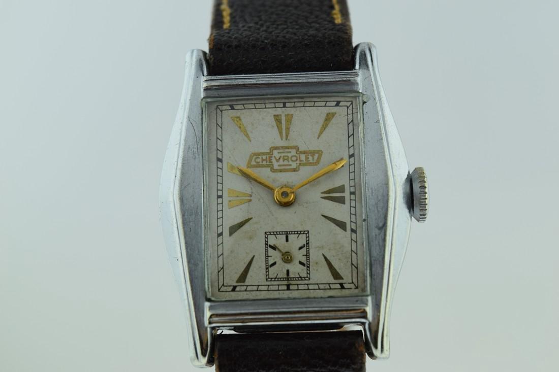 Vintage Chevrolet Mechanical Watch, 1935 - 7