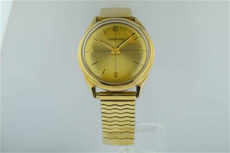 Bulova Accutron 10K Gold Quartz Watch, 1966