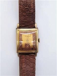 Vintage Boulevard 10K Gold Filled Men's Watch, 1940s