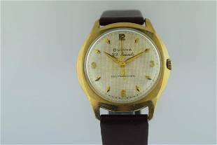 Bulova Automatic 10K Gold Filled Watch, 1962