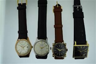 Lot of 4 Men's Wristwatches