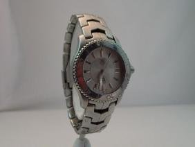 Tag Heuer Mens Modern Stainless Steel Wristwatch