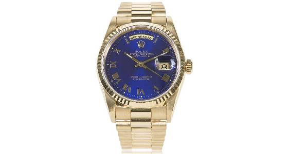 Rolex Presidential Oyster Perpetual 18K Gold Watch