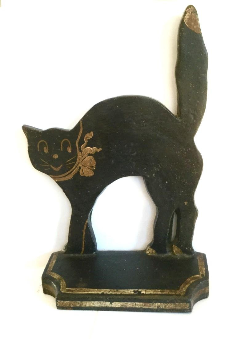 Black Cat Door Stop