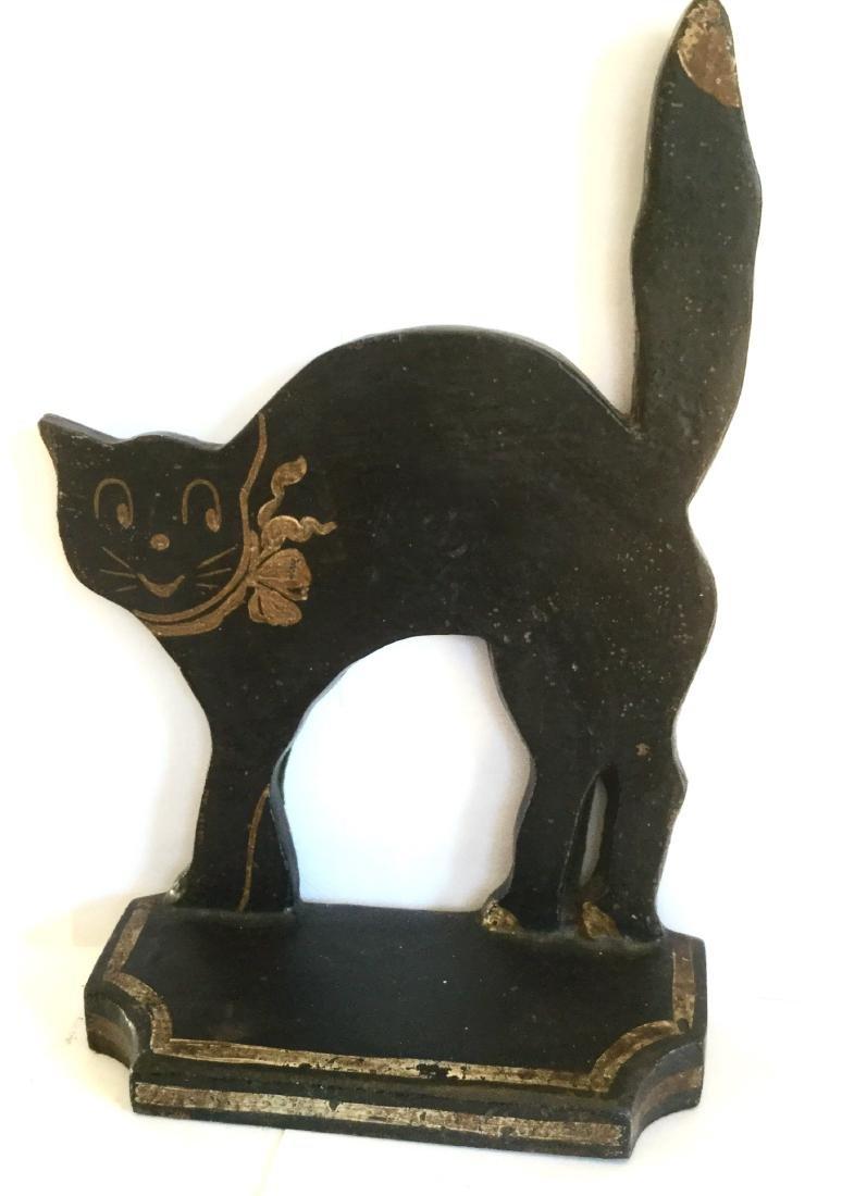 Black Cat Door Stop - 2