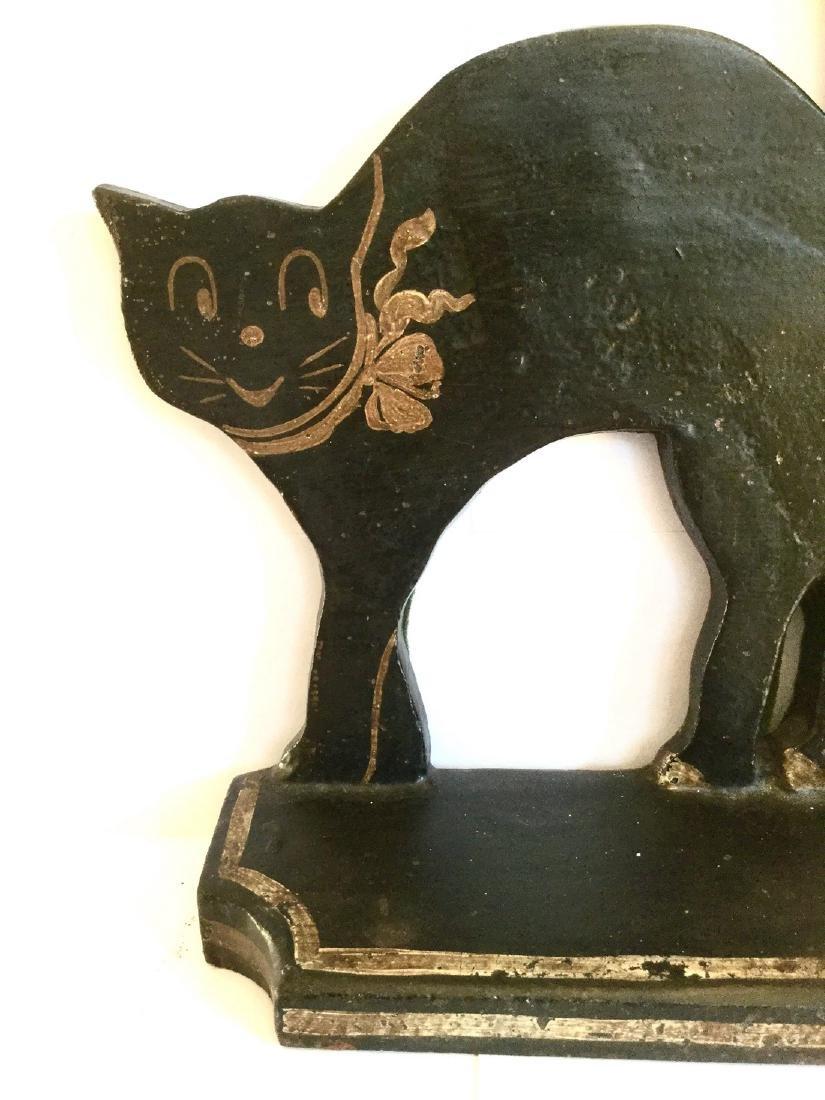 Black Cat Door Stop - 3