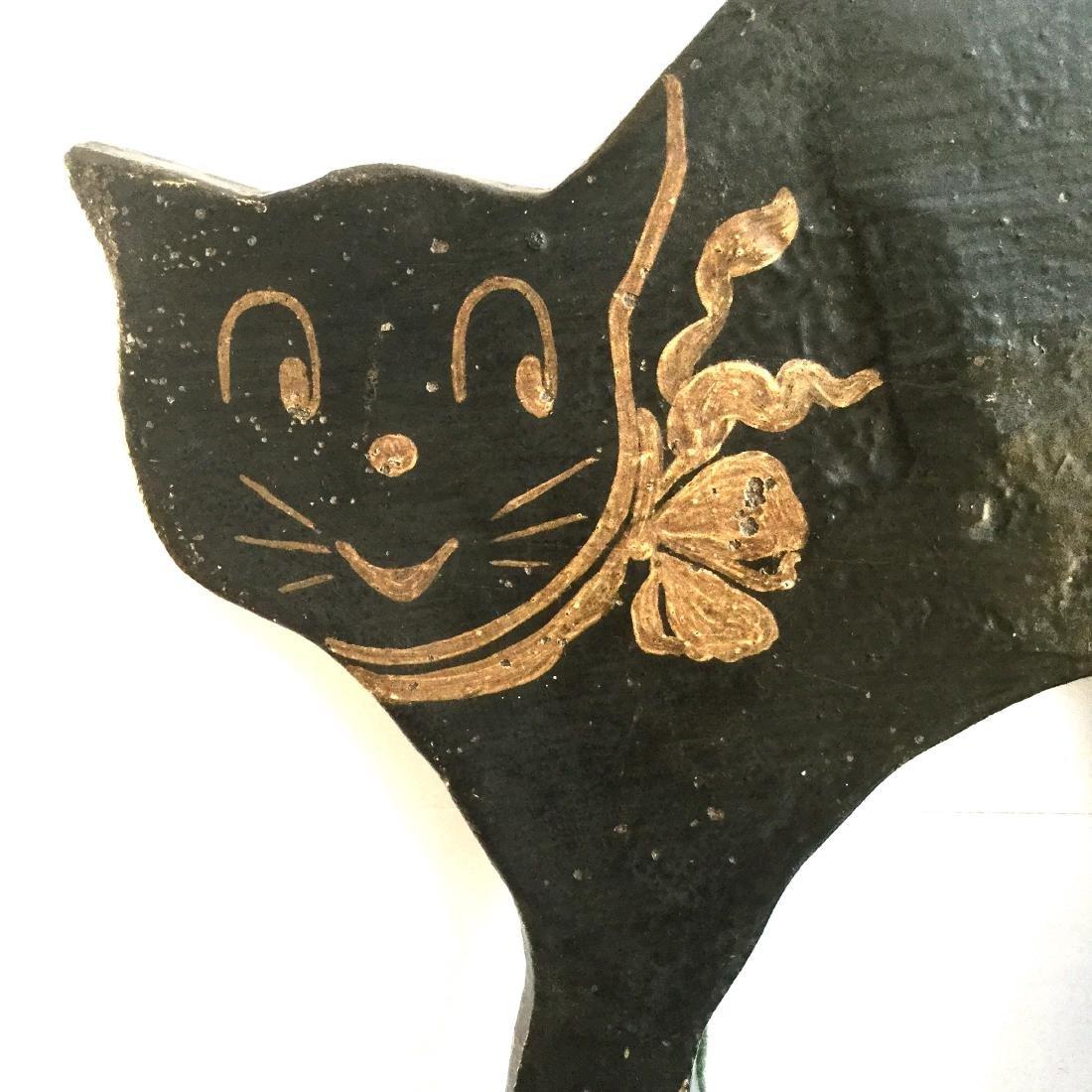 Black Cat Door Stop - 8