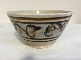 British Cream Ware Mocha Bowl