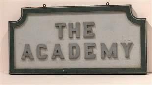 The Academy Sign