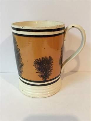 British Cream Ware Mocha Mug