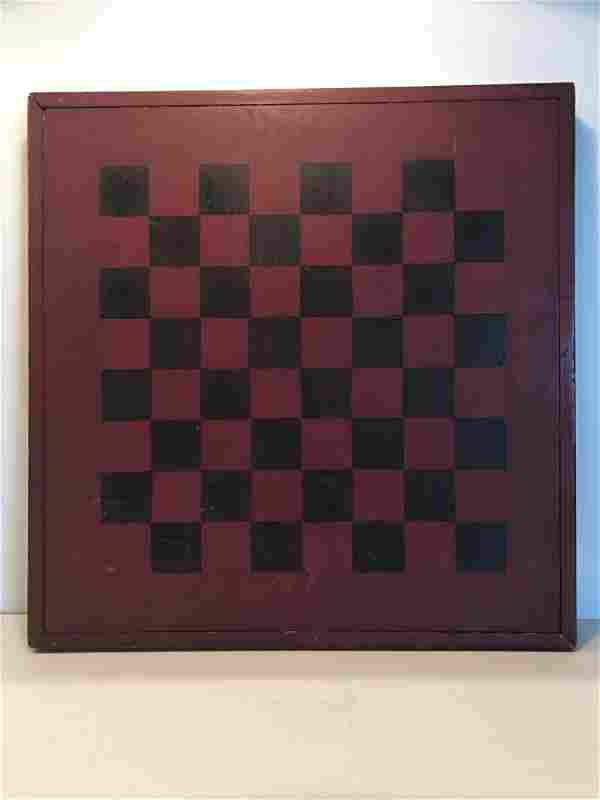 19th C Game Board