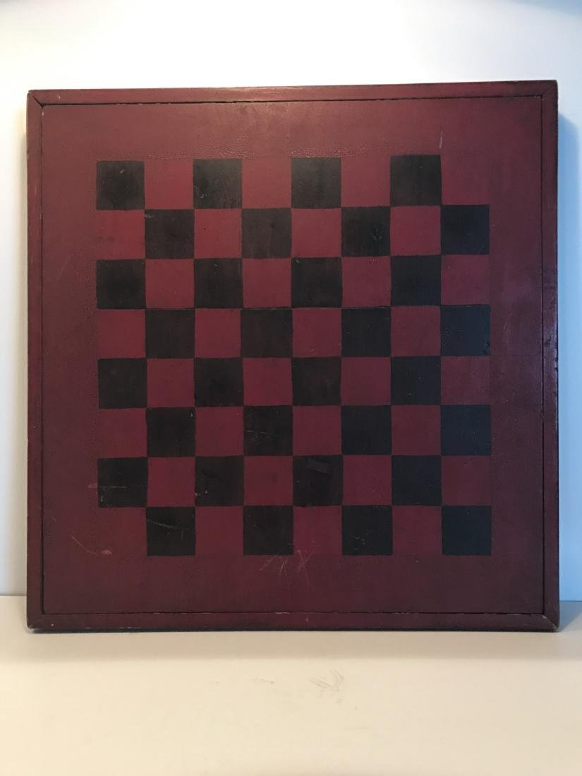 19th C Game Board