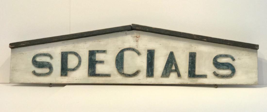 """""""Specials"""" Sign"""