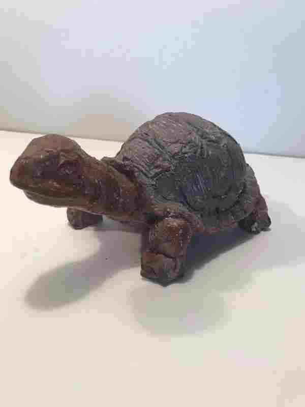 Sewer Tile Turtle Figure, Superior Tile Co.