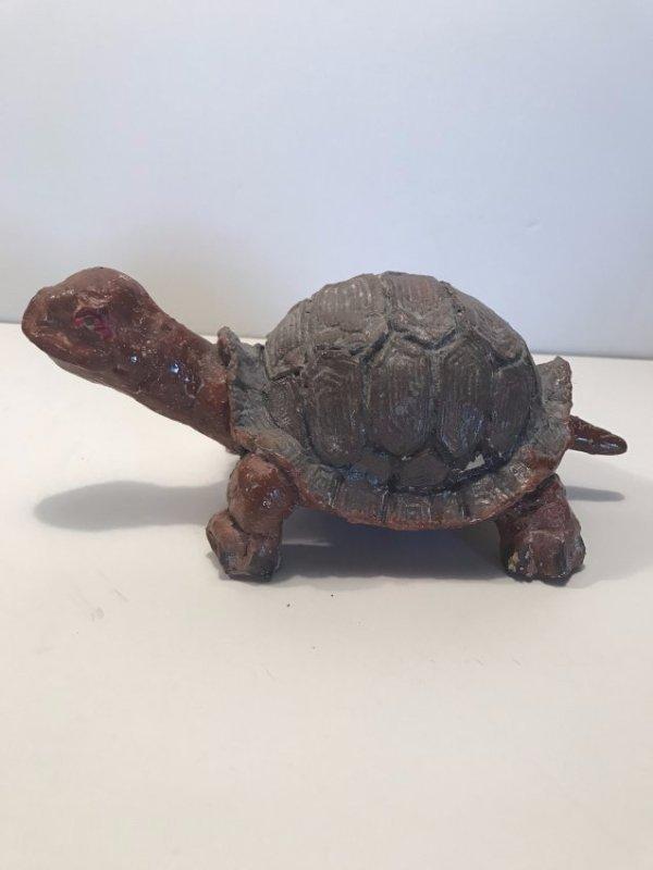 Sewer Tile Turtle Figure, Superior Tile Co. - 2