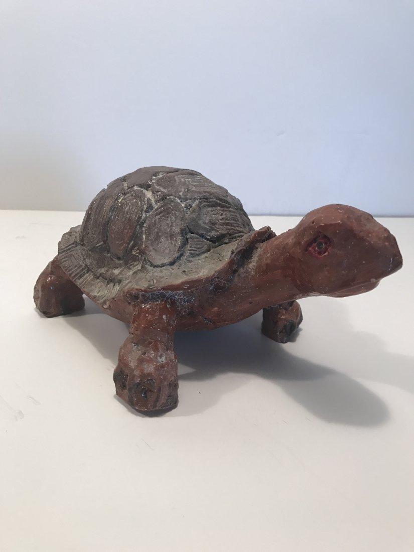 Sewer Tile Turtle Figure, Superior Tile Co. - 4
