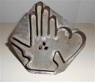 Heart & Hand Cookie Cutter