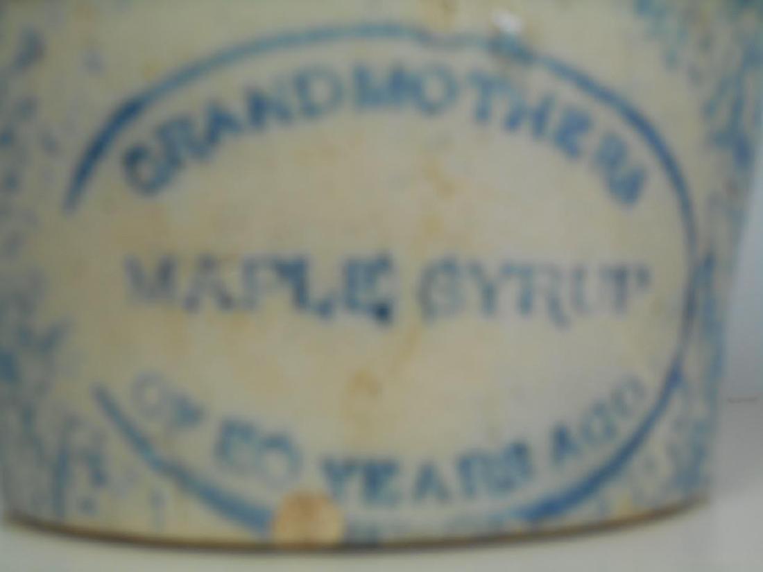 Grandmother's Maple Syrup Sponge Jug - 2
