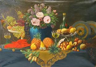 Joseph Becker Oil Painting