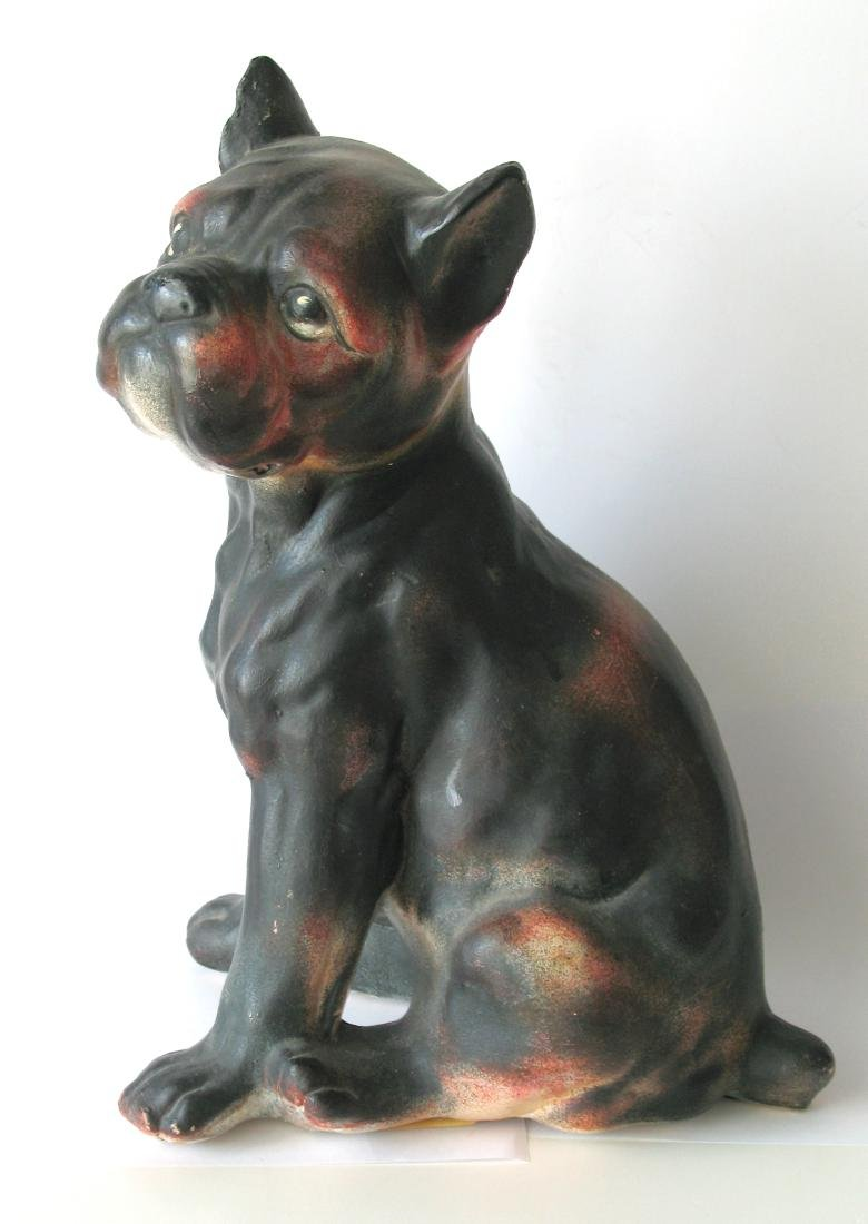 Boston Terrier Chalk Bust