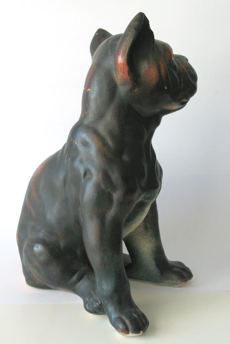 Boston Terrier Chalk Bust - 3